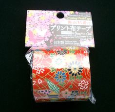 Japanese Fabric Tape Origami Crane Flowers by FromJapanWithLove, $5.00
