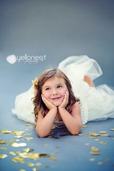 San Antonio Children Photography- Glitter Session {Isabella Turns 3!}
