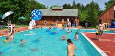 Heated outdoor and indoor pool at The Tyler Place Family Resort   Vermont All Inclusive Family Vacations