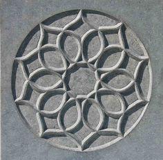 Stone Rose III, 2008, limestone