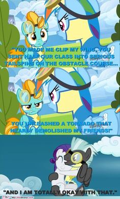 Oh, Rarity! I don't remember this part, but it's adorable!