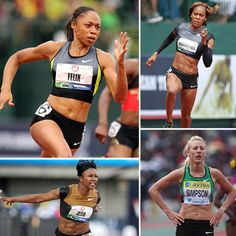 """US Women's Olympic Track and Field Team - """"Who to watch"""""""