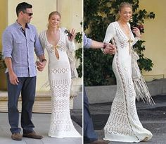 Sans Limites Crochet: Crochet Wedding Dress