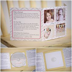 Photography Packaging | Missy B Photography | Walnut Creek, CA Newborn Photographer - Missy B Photography