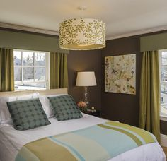 Bedroom Photos Dark Brown Walls Design, Pictures, Remodel, Decor and Ideas - page 3
