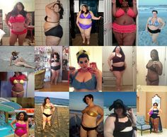The Fatkini movement has arrived! Behold curvy girls in their plus size bathing suits!