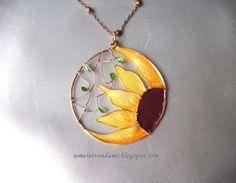 Vedere come lo facciamo: collana di fiori Filo con smalto / Galleria 2