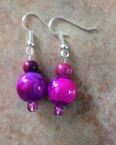 Perlas bicolor (rosa con morado)