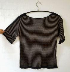 Stribet T-shirt variant 2 - Kvinder - Charlotte Tøndering - Designere