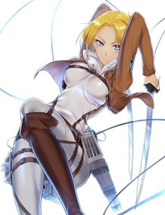Annie - Shingeki no Kyojin, Attack On Titan