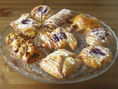 Vegan Danish Pastry Party:Recipes Cheese Danish, Bear Claw, Pinwheel, Maple Pecan Plait, Pain au Chocolat, Cinnamon Swirl, & The Envelope