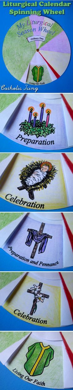 Diy Liturgical Calendar : How to make a rosary board use with kids move mary