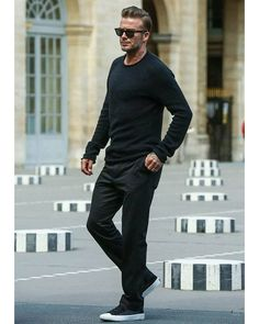 Mode Outfits, Casual Outfits, Fashion Outfits, Stylish Men, Men Casual, David Beckham Style, David Beckham Fashion, Mode Man, Style Masculin