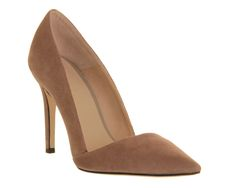 Office Jilly Court Mink Suede - High Heels