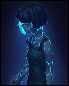 Elyn: A shy person, they live underground and cultivate mushrooms and bioluminescent plants. They fear the surface dwellers, because up there they're seen as a freak. Pretty Art, Character Design Inspiration, Cool Drawings, Art Inspo, Art Girl, Art Sketches, Art Reference, Amazing Art, Character Art