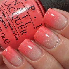 Nail Design. Nail art. Creative. Nails. Polish. OPI. Orange, beige. Romantic!!!!! So cute!