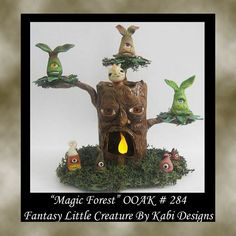 Fantasy Creatures and More ^_^ - POTTERY, CERAMICS, POLYMER CLAY