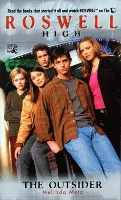 Roswell High: The Outsider (TV Series) by Melinda Metz http://www.amazon.com/dp/0671774662/ref=cm_sw_r_pi_dp_EKBivb1TYYZHM