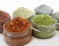 3 Face Mask Samples 1 gram bags choose 3 por TaraleeNaturalBeauty
