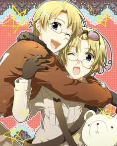Photo of America & Canada for fans of Hetalia.