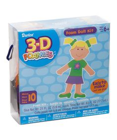 Take a look at this Foam 3-D Doll Kit on zulily today!