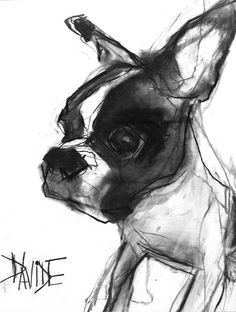 Valerie Davide original dog Wilson