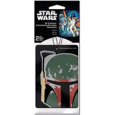 Plasticolor Star Wars Boba Fett Air Fresheners, 2-Pack