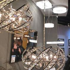 Hot for Summer! New June introduction. Stunning Crescent pendant will WOW your guests. Quoizel Lighting, June, Chandelier, Bling, Ceiling Lights, Pendant, Hot, Instagram Posts, Summer