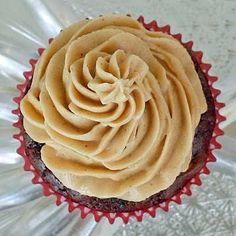 peanut butter frosting, franks birthday cake must have