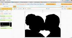 How To Create A Silhouette Image Using Free Photo Editing Software
