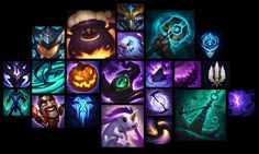 ArtStation - LoL icons part 2, Sperasoft Studio