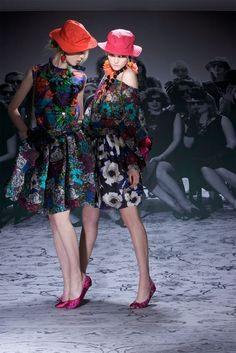 Lanvin Resort 2010 Fashion Show - Elsa Sylvan, Emma Karlsson