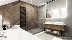 Minimal Bathroom, Modern Bathroom, Small Bathroom, Cabin Bathrooms, Dream Bathrooms, Wood Bathroom, Bathroom Renos, Wooden Door Design, Toilet Design