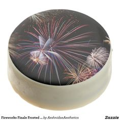 Fireworks Finale Frosted Oreo Cookies Chocolate Dipped Oreo