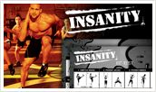 Insanity worksheet with fit test. Click on the image to open a printable .pdf version from SheaFitness.