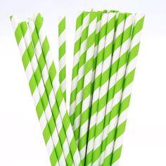 spring-green-striped-paper-straws.jpg (600×600)