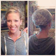 Bridesmaid Hair & Makeup