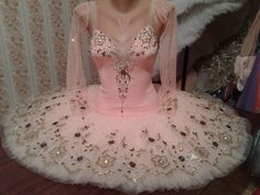 New Exclusive Russian Professional Tutu made by a famous Russian costume maker exclusively for Dancewear by Patricia. This platter tutu is a unique creation for roles such as Sugar Plum fairy and Prin