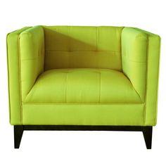 Green Pancini Club Chair