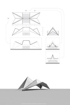 7 Neat Clever Tips: Metal Roofing Colonial origami roofing architecture.Different Roofing Styles. Architecture Pliage, Architecture Origami, Roof Architecture, Architecture Diagrams, Theater Architecture, Tropical Architecture, Architecture Portfolio, Architecture Details, Folding Structure