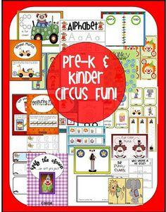 Circus preschool pack