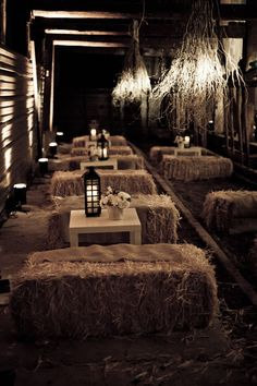 I took a 130-year old barn last year and turned it into this! Elements from that party will be used at Soho