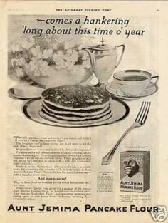 Vintage Food Advertisements of the (Page No Flour Pancakes, Breakfast Pancakes, Breakfast Cereal, Breakfast Time, Waffles, Vintage Ads Food, Vintage Signs, Vintage Posters, Retro Recipes