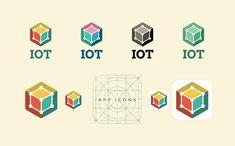 Internet Of Things Logo Template #Logo #Internet #Logo #Template