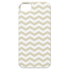Gold taupe chevron zig zag textured zigzag pattern iPhone 5 cases