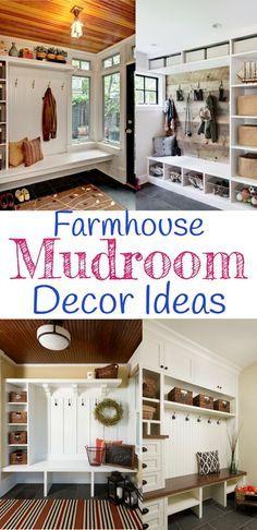 Delightful Rustic Farmhouse DIY Mudroom Designs And Mud Rooms Ideas We Loveu2026 Mudroom  Cubbies, Cabinets Gallery