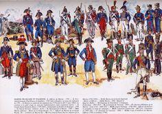 ex-french army uniforms
