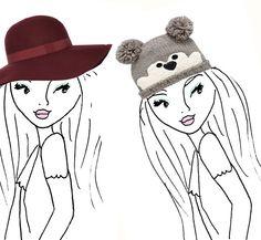 Waar kies jij voor? De hoed of de muts?