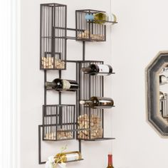 Holly & Martin Wisegrid Wine and Cork Wall Cage//
