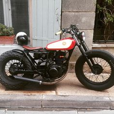 Yamaha tw 200cc #tw200custom #tw125custom #bratstyle